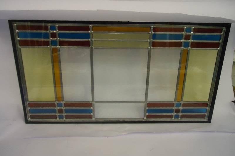 Glas in lood panelen gemonteerd in HR++ glas Hoogeveen